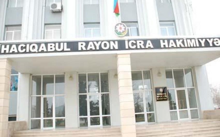 Hacıqabul Rayon İcra Hakimiyyətinə 3 milyon manat ayrılıb