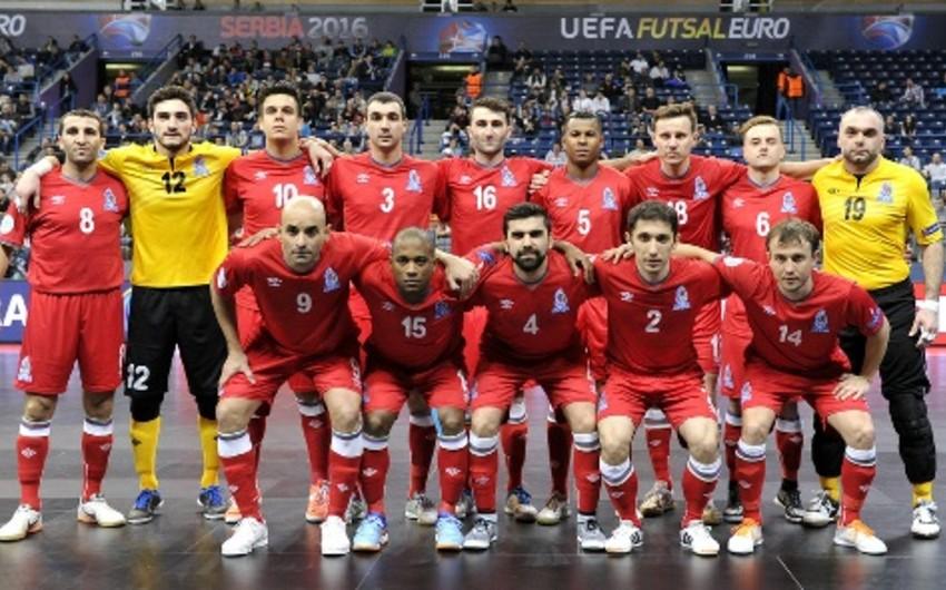 Azerbaijan to face Russia in quarter-final of Futsal Euro 2016