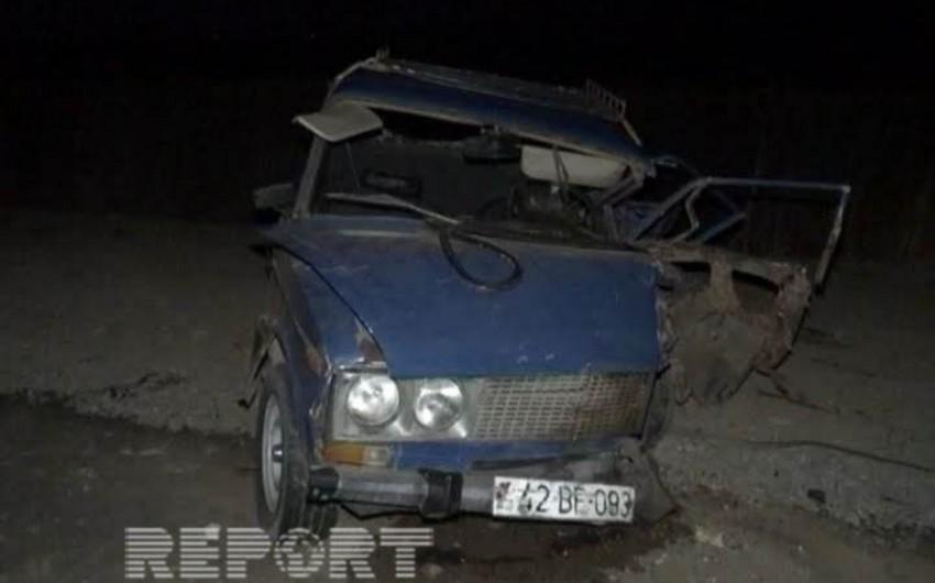 Cəlilabadda yol qəzasında 1 nəfər ölüb, 3 nəfər yaralanıb - FOTO
