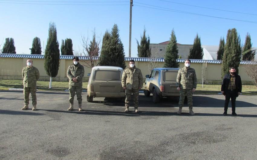 Группа лиц в военной форме пыталась пройти на освобожденные территории