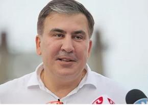 Saakaşvilinin həbsxanadan ilk fotosu yayılıb
