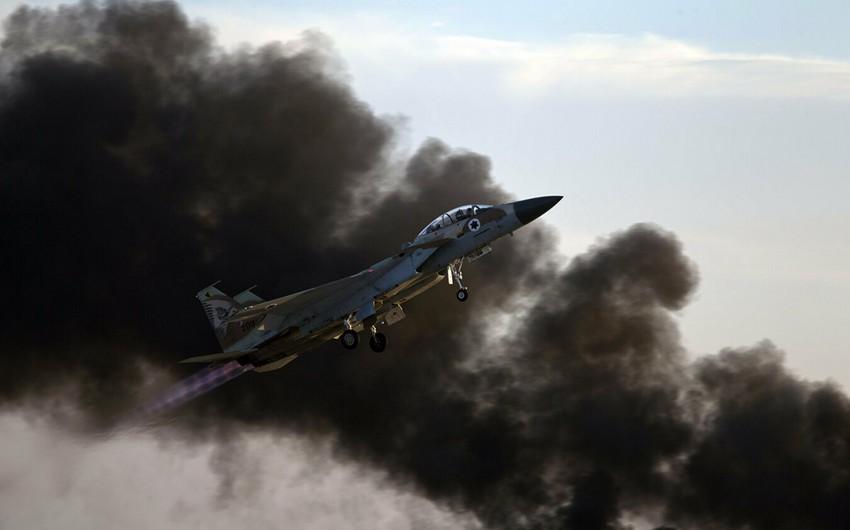 İsrail hərbçiləri Suriyadakı İran hədəflərinə zərbələr endirib