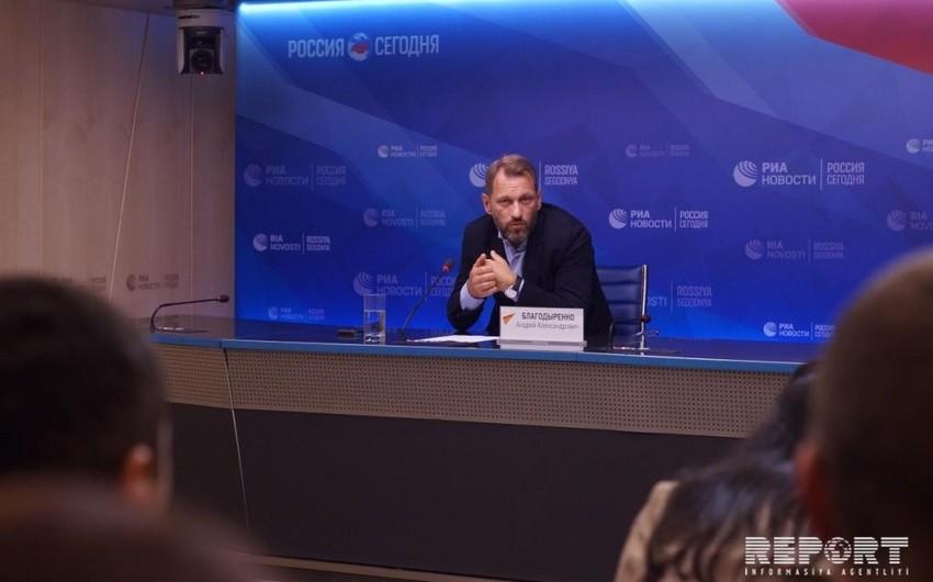 Замредактора Спутник: Азербайджан делает правильные шаги в плане построения своего имиджа за рубежом