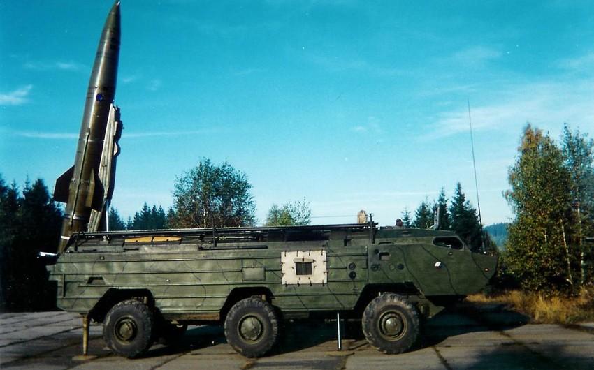 "Ermənistan ""Toçka-U"" taktiki raket kompleksini tətbiq edib"