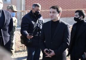 Хикмет Гаджиев: На освобожденных территориях проведут большие работы