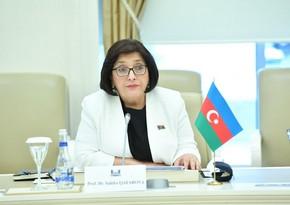Сахиба Гафарова: Мы против использования термина нагорно-карабахский конфликт