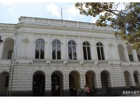 Tbilisidə AXC-nin elan olunduğu binanın bərpasına başlanılır