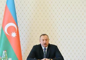 Ильхам Алиев: Азербайджан внес достойный вклад в дело нашей общей Победы