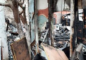 В Баку произошел пожар в общежитии для вынужденных переселенцев