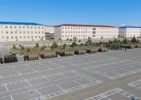 Молодые солдаты отправлены на места службы в Отдельной общевойсковой армии