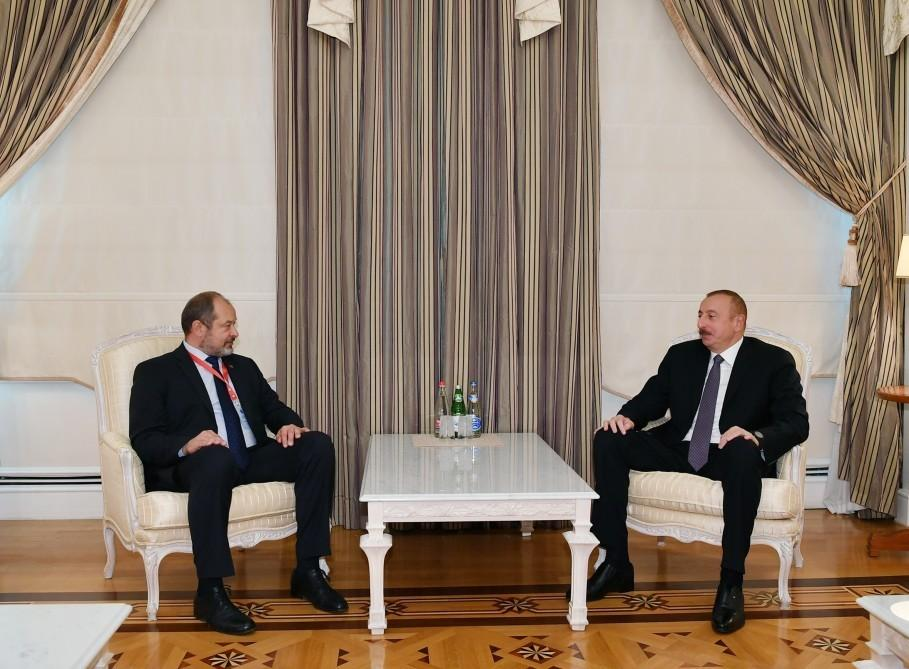 President Ilham Aliyev receives president of Slovenian National Council