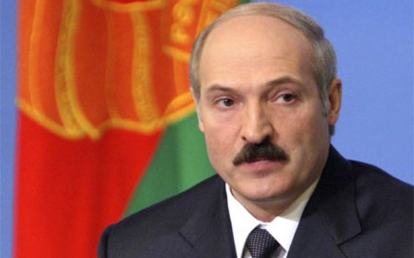 Belarus prezidenti: Qərblə münasibətimizi yaxşılaşma kimi dəyərləndiririk