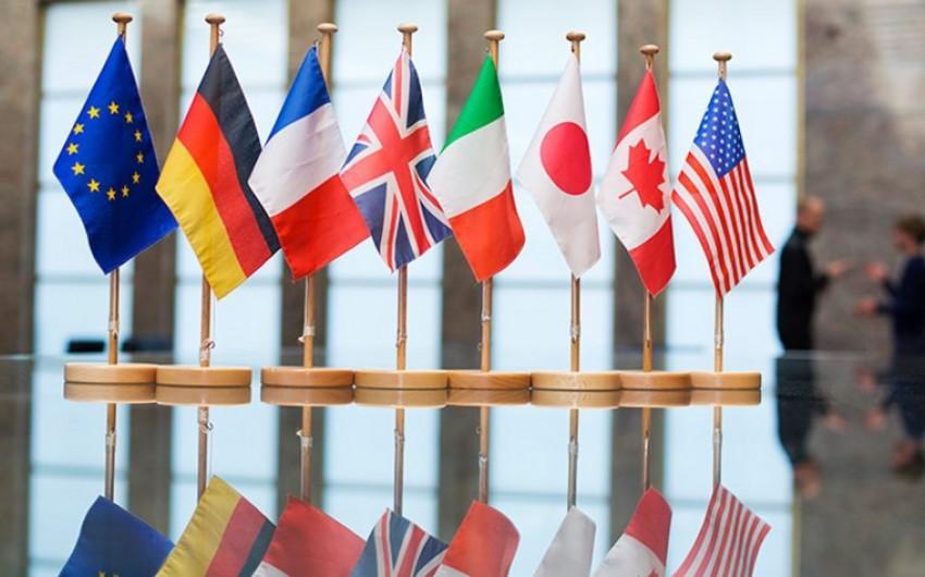 KİV: Fransa ABŞ ilə fikir ayrılığına görə G7 sammitində birgə bəyanatı imzalamayacaq