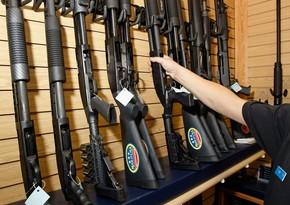 Amerikada silah satışları 91 faiz artıb
