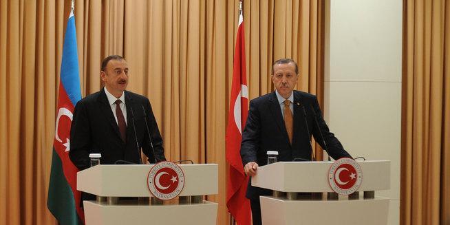 Эрдоган позвонил президенту Азербайджана