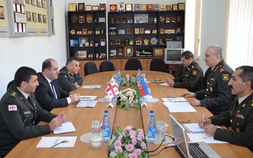 Azərbaycan və Gürcüstan müdafiə nazirlikləri arasında 2015-ci il üçün ikitərəfli əməkdaşlıq planının layihəsi razılaşdırılıb