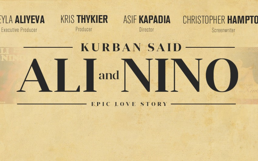 Premiere of film 'Ali and Nino' to be held in US