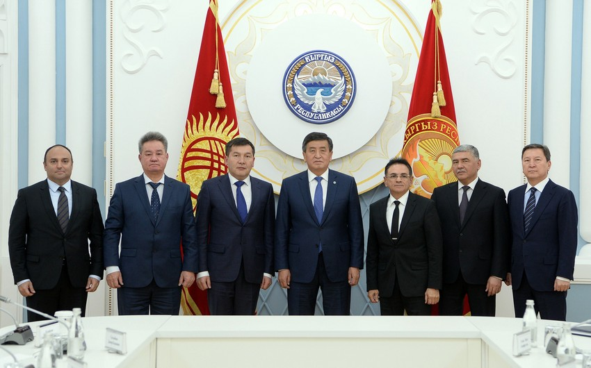 Jeenbekov meets with leaders of special services of Turkic-speaking states