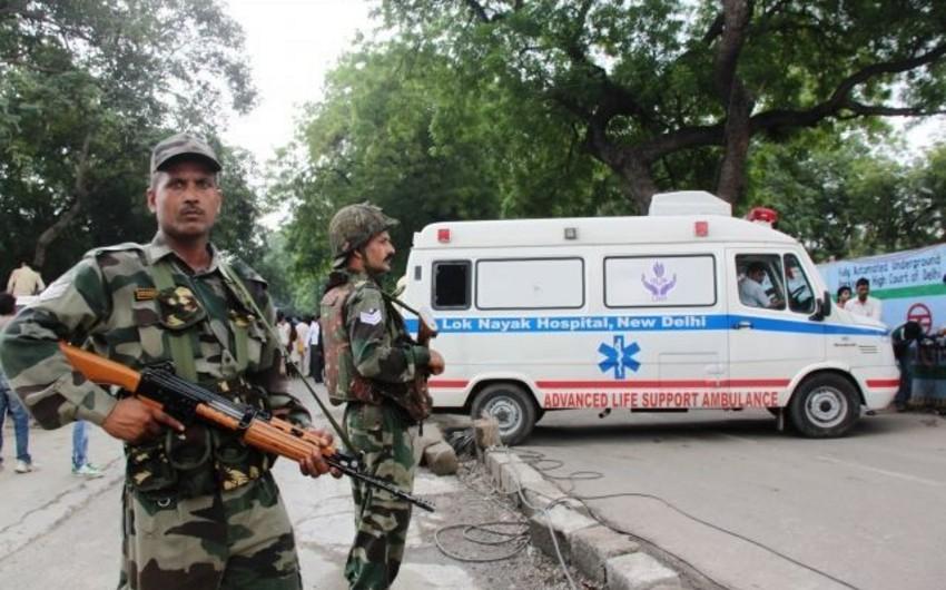 Шесть человек получили ранения после теракта в Индии