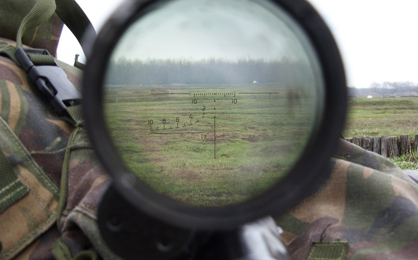 Armenians violated ceasefire 146 times a day using large-caliber machine guns