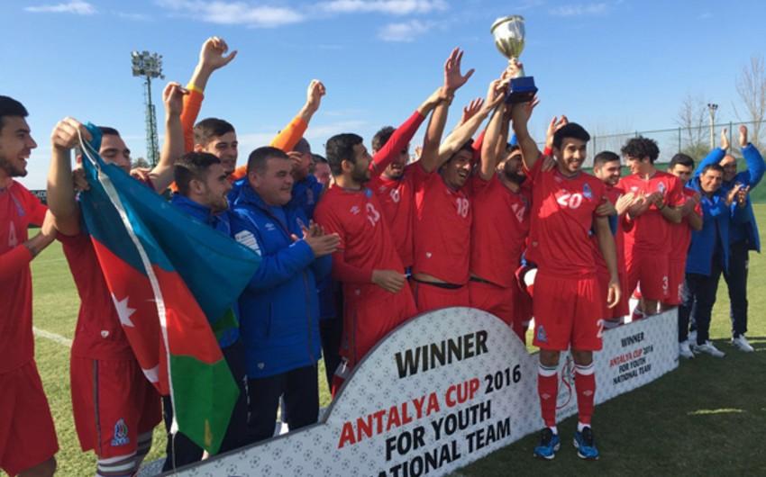 Сборная Азербайджана стала победителем Antalya Cup