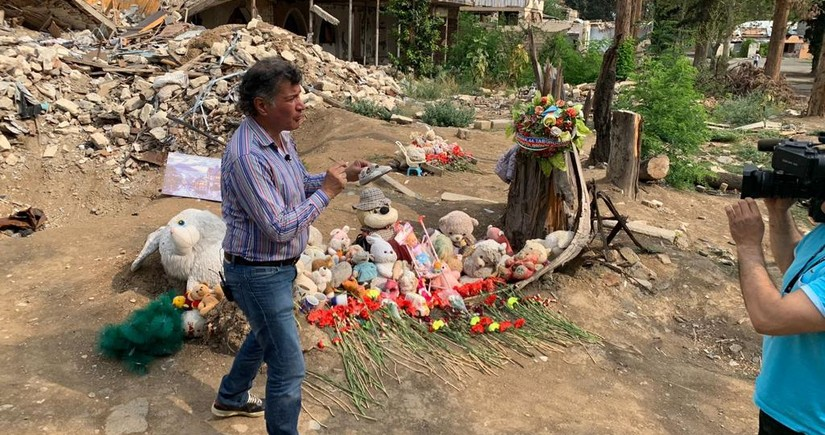İşğaldan azad olunmuş ərazilərimiz barədə məlumatlar Meksika radiosunda