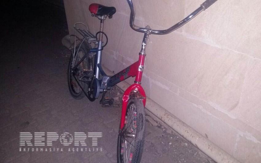 Lənkəranda 12 yaşlı velosipedçini maşınla vuraraq qaçan sürücü tutulub - FOTO - VİDEO - YENİLƏNİB