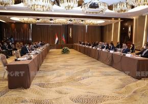 В Баку подписан протокол по итогам заседания Совместной комиссии между Азербайджаном и Ираком