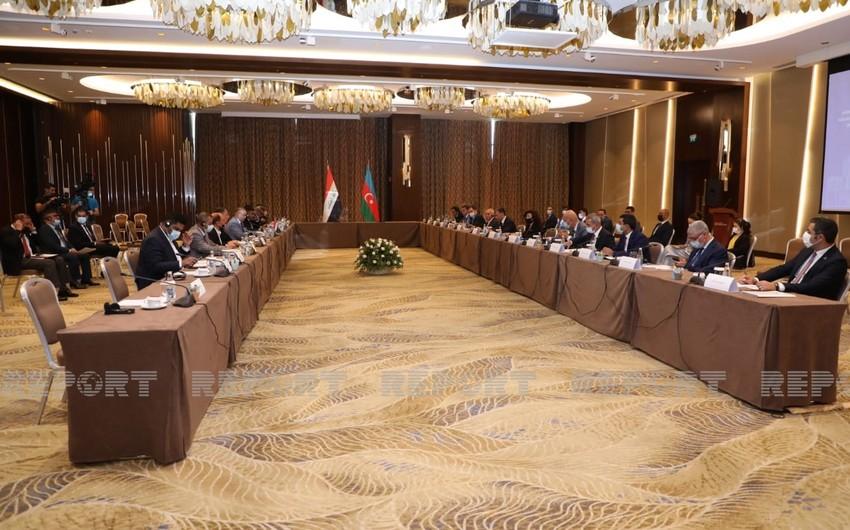 Bakıda Azərbaycan və İraq arasında Birgə Komissiyanın II iclası keçirilib