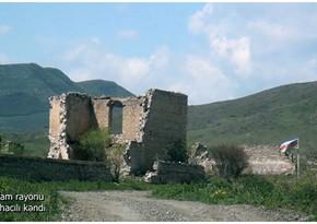 Footage from liberated Sarijali village of Azerbaijan's Aghdam district