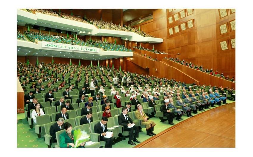 Meeting of Halk Maslahaty of Milli Gengesh of Turkmenistan held in Ashgabat