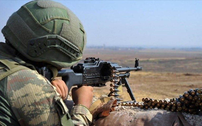 Suriyanın şimalında YPG terrorçuları zərərsizləşdirildi