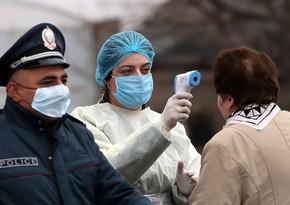 Ermənistanda koronavirusa yoluxanların sayı 30 mini ötdü