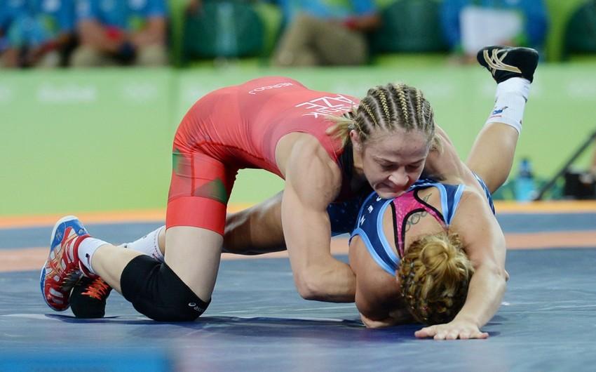 Rio-2016: Azərbaycan güləşçisi Mariya Stadnik gümüş medal qazanıb