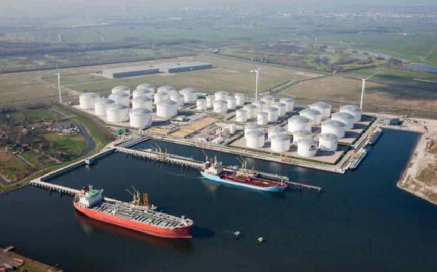 Kulevi limanında 2 200-cü tanker qəbul edilib