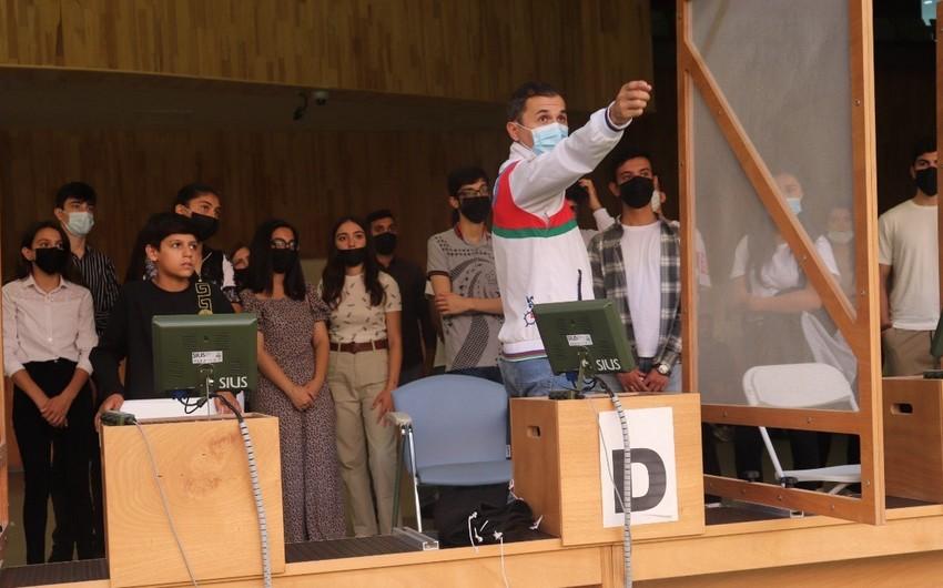 В Бакинском стрелковом центре организована экскурсия для детей шехидов