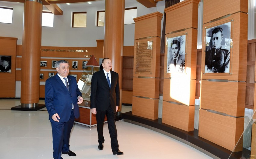Heydar Aliyev Center opens in Zagatala