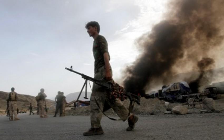 Əfqanıstanda NATO-nun avtomobil karvanına hücum olub