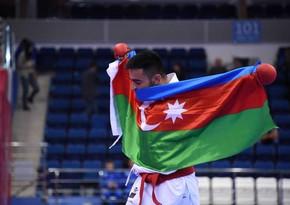 Азербайджанский каратист завоевал золото II Европейских игр - ФОТО