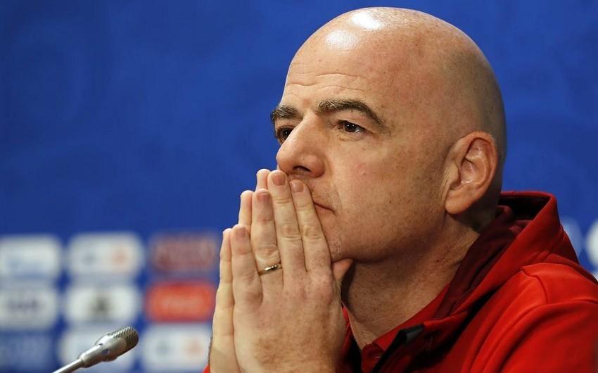 Президент ФИФА: Сердца всех нас на мгновение перестали биться
