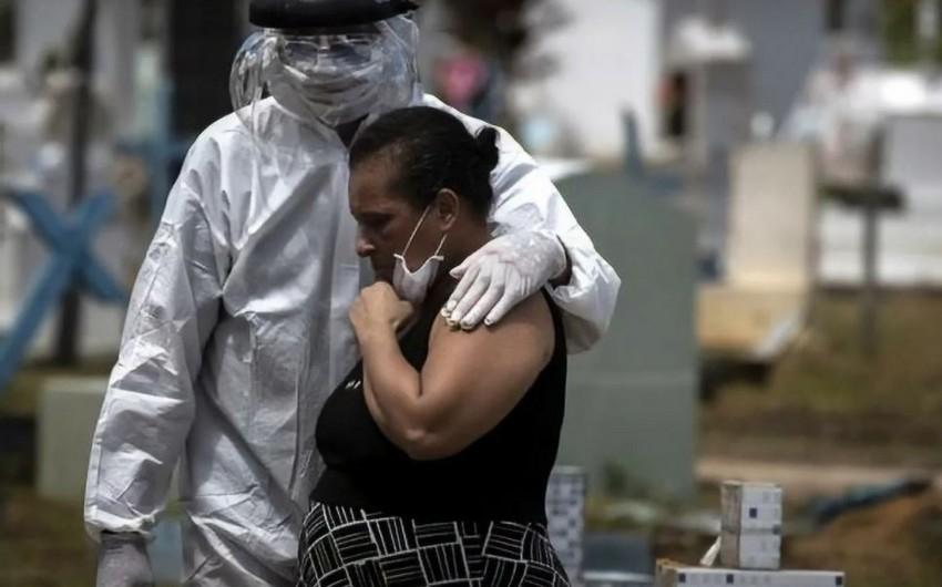 Braziliyada son sutkada on minlərlə insanda virus aşkarlandı