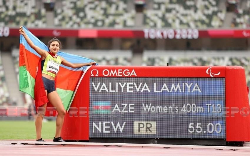 Tokio-2020: Azərbaycan paralimpiyaçıları 14-cü qızıl medalı qazanıb