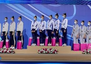 Азербайджанские гимнастки стали призерами Гран-при