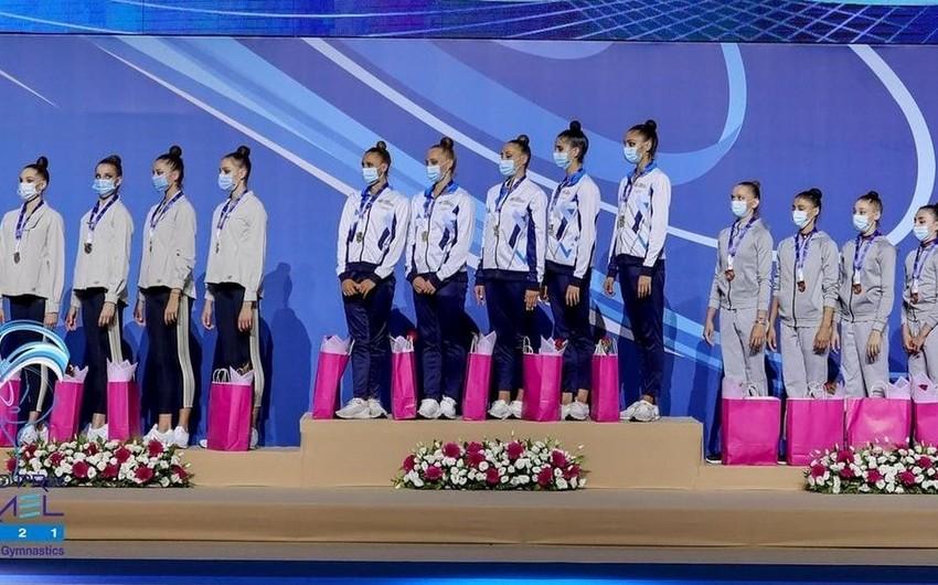 Gimnastlarımız Qran-pridə medal qazandı