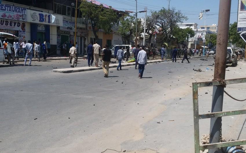Somalidə partlayış törədilib, azı 8 nəfər ölüb