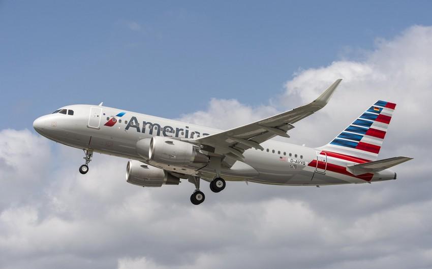 American Airlines reysinin bir neçə sərnişini təcili eniş sonrası xəstəxanaya çatdırılıb