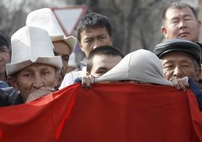 Qırğızıstanda Tacikistanla sərhəd münaqişəsi qurbanları ilə bağlı matəm elan olundu