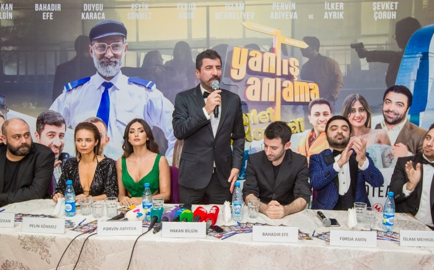 """""""CinemaPlus""""da """"Yanlış anlama"""" komediya filminin təqdimatı olub - VİDEO"""
