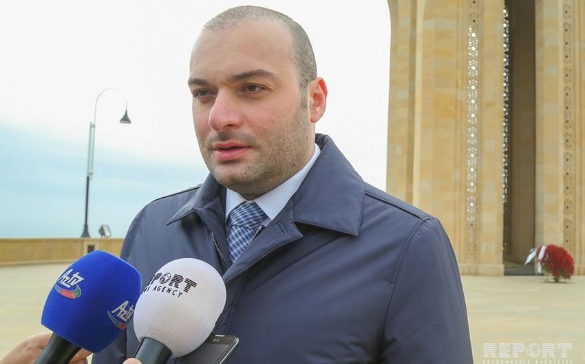 Program of Georgian PM's visit to Azerbaijan announced