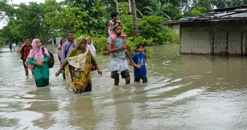 Hindistanda leysan yağışlar 10 nəfərin ölümünə səbəb olub, itkin düşənlər var